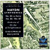 Haydn: Symphonies 85, 86 & 87 / Sigiswald Kuijken, et al