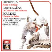 Prokofiev: Peter and the Wolf;  Saint-Saens, Poulenc