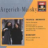 Franck, Debussy: Cello Sonatas, etc / Maisky, Argerich