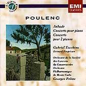 Poulenc: Aubade, Concerto pour piano, etc / Tacchino, Pretre