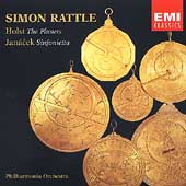 Holst: The Planets;  Janacek: Sinfonietta / Rattle, et al