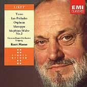 Liszt: Orpheus, Mazeppa, Les Preludes, Tasso / Masur