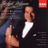 Great Romantic Concertos / Itzhak Perlman