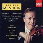 The Great Violin Concertos / Yehudi Menuhin