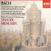 Bach: Orchestral Suites, Musical Offering / Menuhin