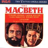 Verdi: Macbeth:Erich Leinsdorf(cond)/MET/Leonard Warren(Br)/Leonie Rysanek(S)/Carlo Bergonzi(T)/etc