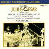 Handel:Giulio Cesare:Julius Rudel(cond)/New York City Opera Chorus and Orhcestra/Beverly Sills(S)/Norman Treigle(B-Br)/etc