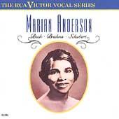 Marian Anderson- Bach, Brahms, Schubert