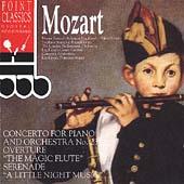 Mozart: Piano Concerto no 23, Magic Flute Overture, etc