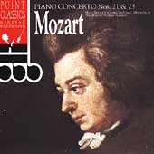 Mozart: Piano Concertos no 21 & 23 / Stanceva, Lizzio