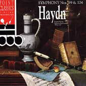 Haydn: Symphonies no 99 & 104 / Lark, London Festival
