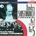 Shostakovich: Symphonies 2 & 5 / Inbal, Wiener Symphoniker