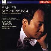 Mahler: Symphony no 4;  Webern / Dam-Jensen, Hirokami, et al