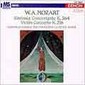 Mozart: Sinfonia Concertante, Violin Concerto / Kuijken