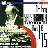 Dmitry Shostakovich: Symphonies Nos 1 & 15 / Eliahu Inbal