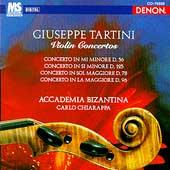 Tartini: Violin Concertos / Chiarappa, Accademia Bizantina