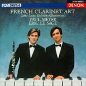 French Clarinet Art / Paul Meyer, Eric Le Sage