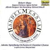 Handel: Messiah Highlights / Shaw, Atlanta Symphony Orch