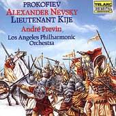 Prokofiev: Alexander Nevsky, etc / Previn, Los Angeles PO