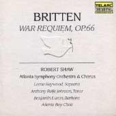 Classics - Britten: War Requiem / Shaw, Atlanta SO & Chorus