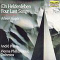 R. Strauss: Ein Heldenleben, Four Last Songs / Andre Previn(cond), Vienna Philharmonic Orchestra, Arleen Auger(S)