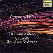 Bruckner: Symphony no 7 / Lopez-Cobos, Cincinnati SO