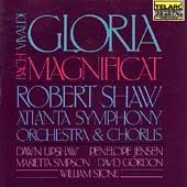 Vivaldi: Gloria Bach; Magnificat / Shaw, Atlanta SO & Chorus