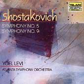 Classics - Shostakovich: Symphonies no 5 & 9 / Levi, Atlanta