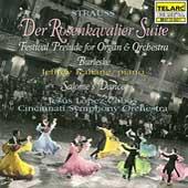 Strauss: Der Rosenkavalier Suite, etc / Lopez-Cobos