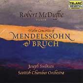 Mendelssohn, Bruch: Violin Concertos / McDuffe, Swensen