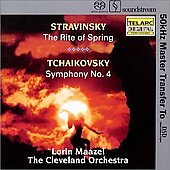 Stravinsky: The Rite of Spring;  Tchaikovsky, etc / Maazel