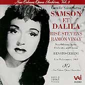 New Orleans Opera Archives Vol 3 - Saint-Saens / R. Cellini