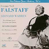 New Orleans Opera Archives Vol 4 - Verdi: Falstaff
