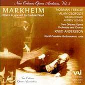 New Orleans Opera Archives Vol 5 - Floyd: Markheim