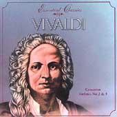 Essential Classics - Vivaldi: Concertos, Sinfonias no 2 & 3