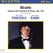 Brahms: Sonatas for Clarinet & Piano / Stoltzman, Goode