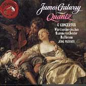 Quantz: Four Concertos / James Galway, Joerg Faerber, et al
