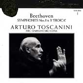 Toscanini Collection Vol 1 - Beethoven: Symphonies no 1 & 3