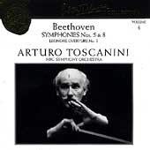 Toscanini Collection Vol 4 - Beethoven: Symphonies no 5 & 8