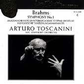 Toscanini Collection Vol 6 - Brahms: Symphony no 1, etc