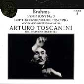 Toscanini Collection Vol 8 - Brahms: Symphony no 3, etc