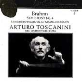 Toscanini Collection Vol 9 - Brahms: Symphony no 4, etc