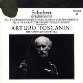 Toscanini Collection Vol 14 - Schubert: Symphonies no 8 & 9