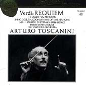 Toscanini Collection Vol 63 - Verdi: Requiem, etc
