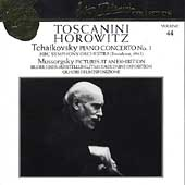 Toscanini Collection Vol.44:Tchaikovsky: Concerto No.1/Mussorgsky:Pictures at an Exhibition:Arturo T0oscanini(cond)/NBC Symphony Orchestra/Horowitz, Vladimir(p)