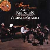 Mozart: Piano Quartets / Rubinstein, Guarneri Quartet