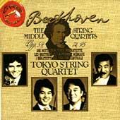 Beethoven: The Middle String Quartets / Tokyo Quartet