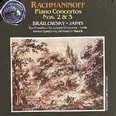 Rachmaninoff: Piano Concertos nos 2 & 3 / Janis, Munch et al