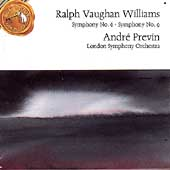 Vaughan Williams: Symphonies nos 6 & 9 / Previn, London SO