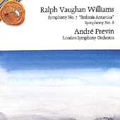 Vaughan Williams: Symphonies nos 7 & 8 / Previn, London SO